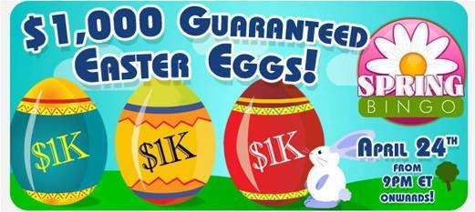 $1,000 Guaranteed Easter Eggs