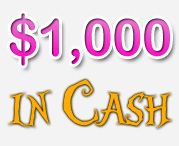 $1,000 in Cash