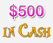 $500 In Cash