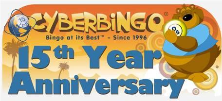 CyberBingo's 15th Anniversary Special