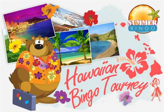 Hawaiian Bingo Tourney