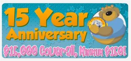 CyberBingo's 15th Anniversary