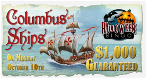 $1,000 Guaranteed Columbus Ships