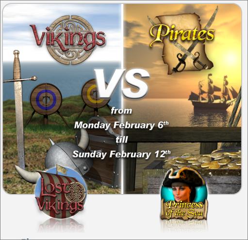 Vikings vs Pirates