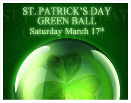 St. Patrick's Day Green Ball